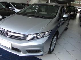 Honda Civic 1.8 Lxs Flex Aut 2013 Completo, Placa A, Novo