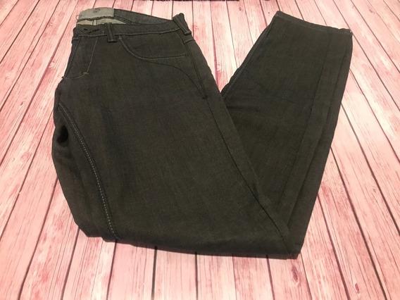 Jeans Negro 5 Bolsillos Koxis T 26 Exelente Calce Elastizado