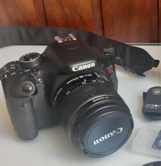 Câmera Canon T3i (não É T4i, T6i, T5i)