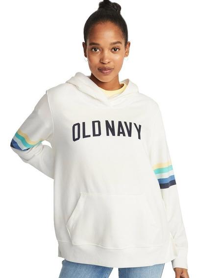 Sudadera Dama Hoodie Mujer Cerrada Gorro 393224 Old Navy