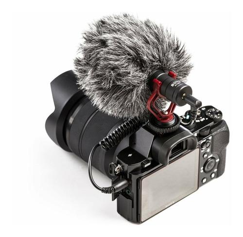 Microfono Profesional Boya Mm1 Especial Para Dslr O Celular
