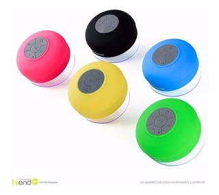 Parlante Bluetooth Portatil Ducha Resis Agua Portatil Hi End