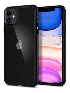 Case Original Spigen Ultra Hybrid Para iPhone 11 Matte Black