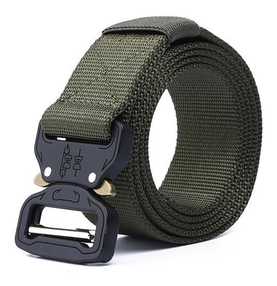 Cinturon Nylon Tactico Militar Ajustable Nuevo Diseño 2020