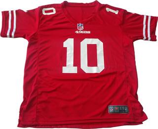 Jersey San Francisco 49ers Jimmy Garoppolo 10 Adulto Niño