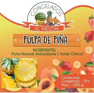 Pulpa De Fruta Piña- Kg A $85 - Kg A $4 - kg a $8