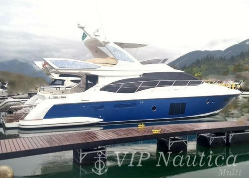 Azimut 60 Ano 2013 C/ 2 X Man 800 Hp - Intermarine Sessa