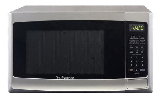 Microondas Bgh Quick Chef Con Grill Silver 23 Litros B223d