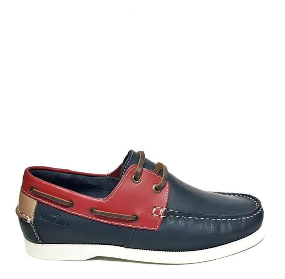 Sapato Samello Masculino Dockside Loop Smooth Couro Exclusivo Pronta Entrega Envio Rápido