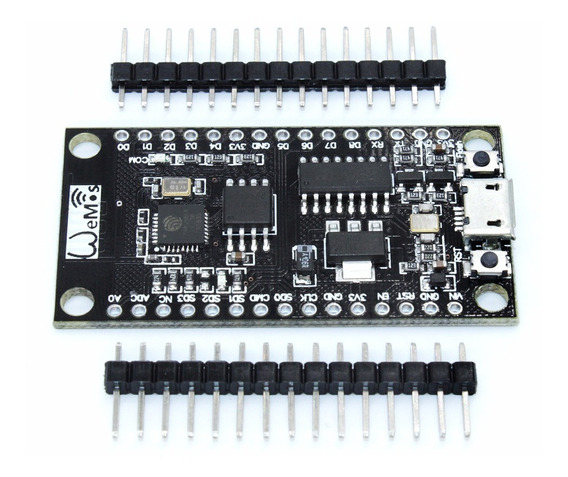 Nodemcu V3 Com 32mb Flash Esp8266 Ch340g Wifi Wemos Arduino