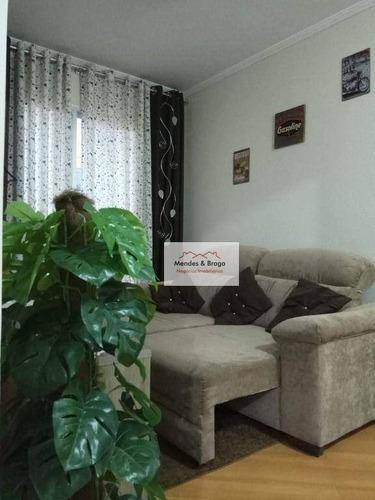 Imagem 1 de 26 de Golden Ville Apartamento Com 2 Dormitórios À Venda, 54 M² Por R$ 250.000 - Jardim São Judas Tadeu - Guarulhos/sp - Ap2779