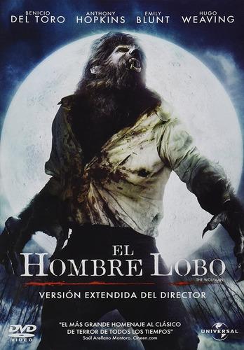 El Hombre Lobo, Versión Extendida Del Director Dvd Pelicula