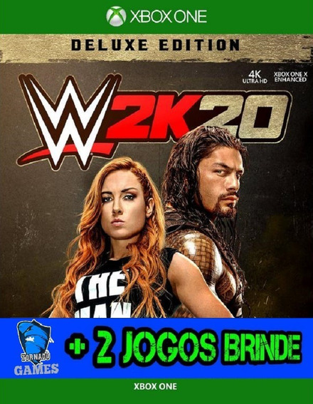 Wwe 2k20 Deluxe Edition - X Box One - M. Digital
