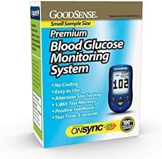 Sistema De Monitoreo De Glucosa En La Sangre Goodsense Premi