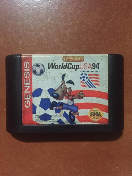 Jogo World Cup Usa 94 Sega Genesis Mega Drive Original