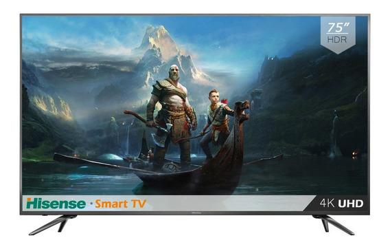 Pantalla 75 Pulgadas Android Tv Hisense Smart 4k Uhd 75eu8070 Hdr /e