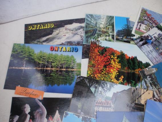 62 Postales Canada - Varias Ciudades