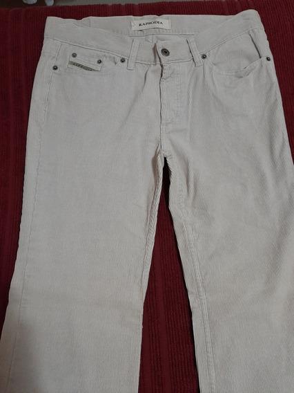 Pantalón Corderoy Rapsodia T.31 Color Cemento
