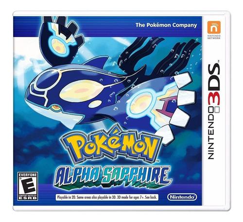 Imagen 1 de 5 de Pokémon Alpha Sapphire Nintendo 3DS Físico