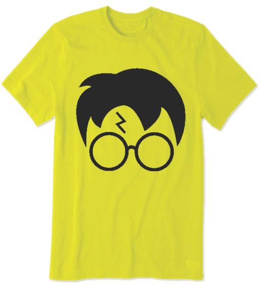 Camiseta Do Harry Potter Hp Rosto Do Harry