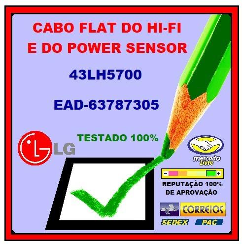 Cabo Flat Lg Lg 43lh5700 Ead63787305