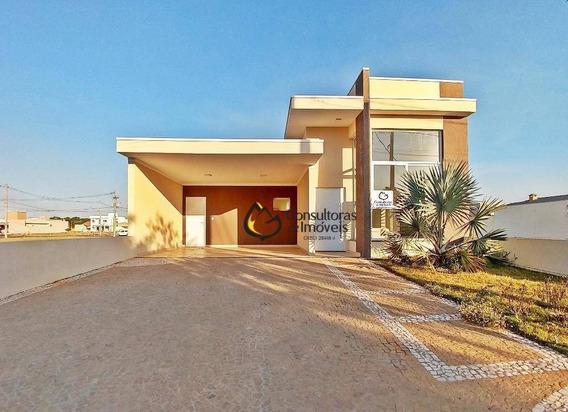 Casa Com 3 Dormitórios À Venda, 180 M² Por R$ 680.000,00 - Condomínio Campos Do Conde Ii - Paulínia/sp - Ca0604