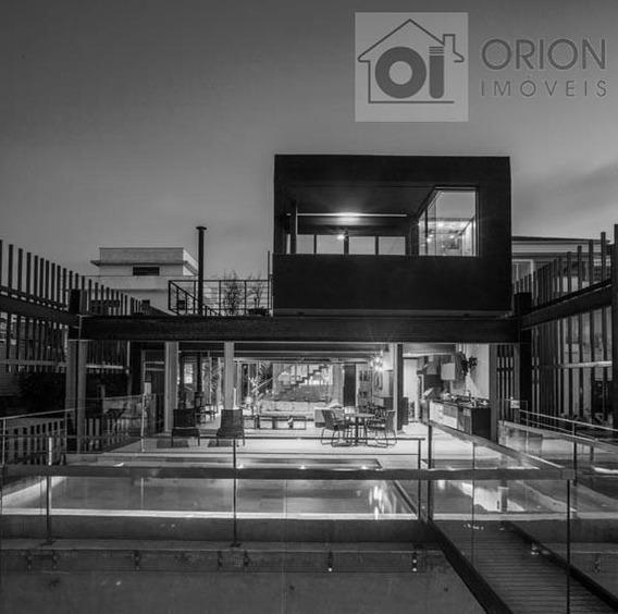 Casa Com 4 Dormitórios À Venda, 600 M² Por R$ 7.800.000,00 - Residencial Morada Dos Lagos - Barueri/sp - Ca0708