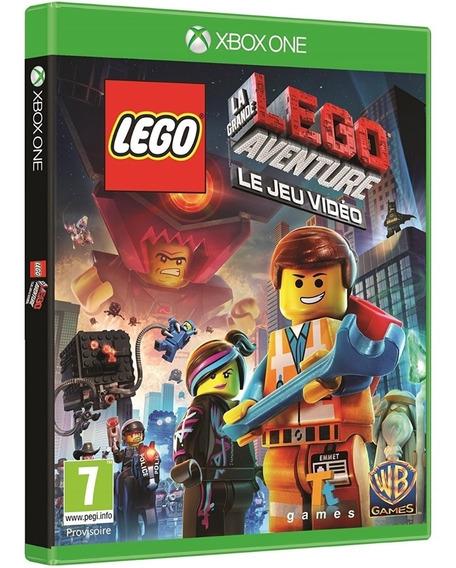 Jogo Lego Movie Xbox One Midia Fisica Novo Lacrado Promoção