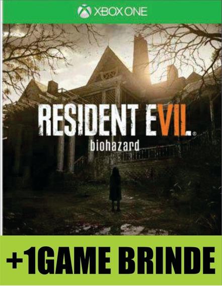 Resident Evil 7 Xbox One Mídia