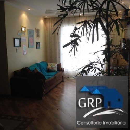 Apartamento Para Venda Em Santo André, Vila Alzira, 3 Dormitórios, 1 Suíte, 2 Banheiros, 1 Vaga - 6842_1-1241680