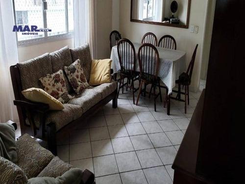 Imagem 1 de 13 de Apartamento Residencial À Venda, Vila Alzira, Guarujá - . - Ap9905