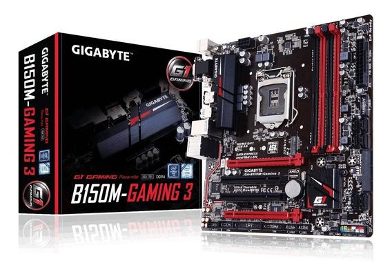 Kit Para Pc Gamer Core I5 7600k Placa Mae B150m Gaming3