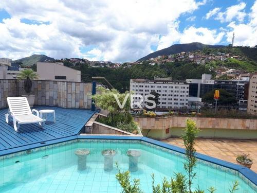 Imagem 1 de 26 de Cobertura Com 4 Dormitórios À Venda, 397 M² Por R$ 2.800.000,00 - Agriões - Teresópolis/rj - Co0028