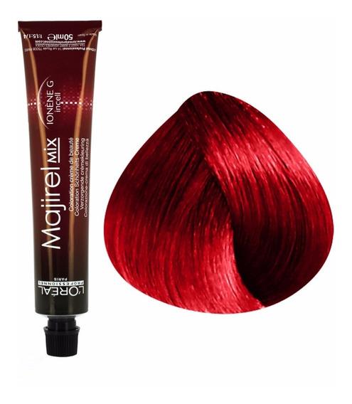 Tintura Majirel Loreal Mix Rouge Rojo Intenso Profesional