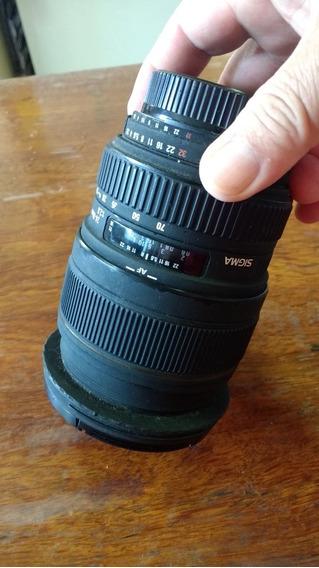 2 Lentes Para Nikon, 1 Sigma 24-70 / 2.8 E 1 Nikon 50mm 1.8