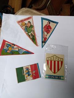Banderin Pequeño Futbol Antiguo