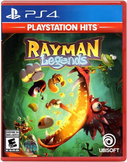 Rayman Legends Ps4 Mídia Física Novo Original Pronta Entrega