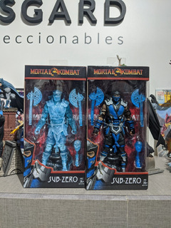 Mcfarlane Toys Mortal Kombat Sub-zero X 2 Gamestop - Asgard
