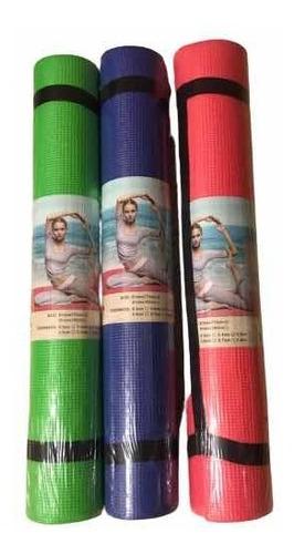 Mat De Yoga Importado Con Porta Mat Incluido