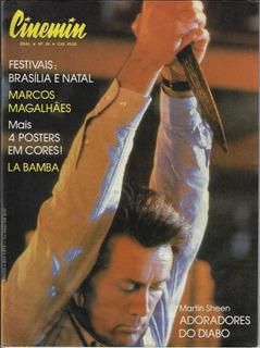 1987 Revista Cinemin Nº 38 Ebal Capa Filme Adoradores Diabo
