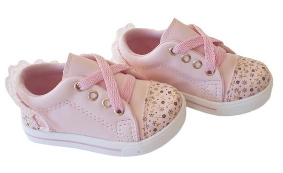 Tenis Rosa Infantil Feminino Meninas Bebê Barato Calçados Infantil Sapatos Confortável