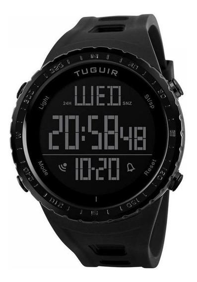 Relógio Masculino Tuguir Digital Tg1246 Preto