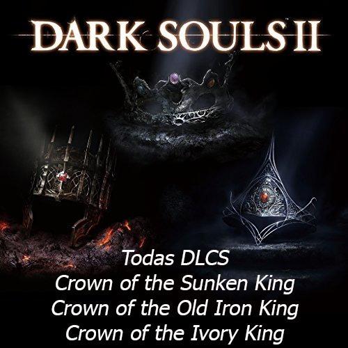 Pack De Dlcs Darksouls 2 - 3 Dlcs - Não Inclui O Jogo - Ps3 Playsation 3