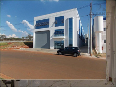 Galpão Comercial Para Locação, Loteamento Industrial Veccon Zeta, Sumaré - Ga0300. - Ga0300