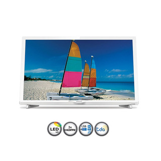 Tv Led 24 Philips Phg4032/77 Blanco
