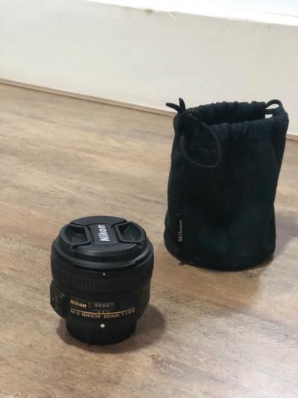 Lente Nikon 50mm 1.8g
