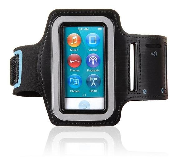 Armband Capa Braçadeira iPod Nano 7 7th Preto