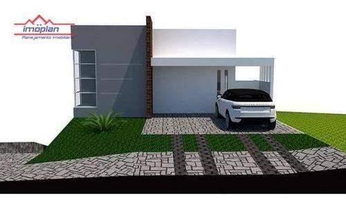 Imagem 1 de 11 de Casa Com 3 Dormitórios À Venda, 226 M² Por R$ 1.050.000,00 - Condomínio Terras De Atibaia I - Atibaia/sp - Ca4289