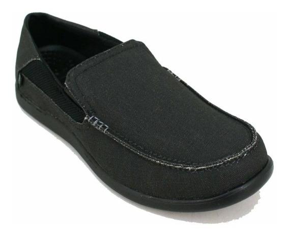 Zapatillas Mocasines Crocs Hombre Casual - Santa Cruz Luxe -