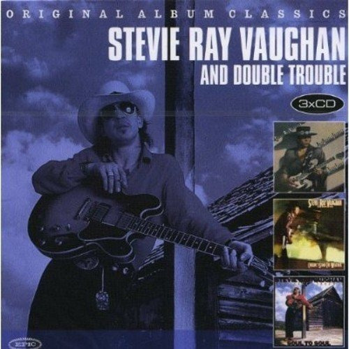 Stevie Ray Vaughan And Double Trouble - 3 Cds Box + 13 Bônus